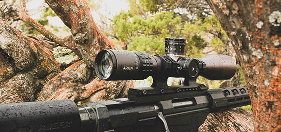 ARKEN OPTICS RIFLE SCOPE SH-4 4-14x44 FFP SHR MIL